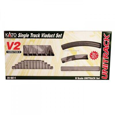 Kato USA N V2 Isolated Track Viaduct Set KAT208611
