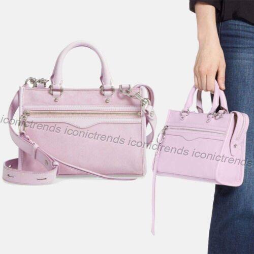 NWT 🌸 Rebecca Minkoff Micro Bedford Zip Leather Satchel C