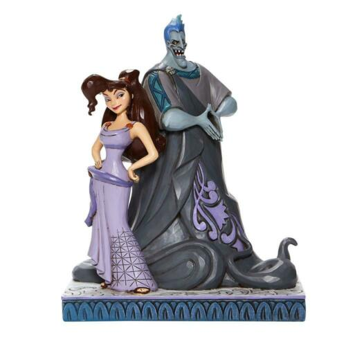 Disney Traditions Jim Shore 2020 Hercules Meg Megara & Hades Figurina 6008070