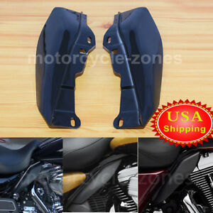 Motorcycle Heat Shield Mid-Frame Air Deflector Trim For Harley Street Glide 09up