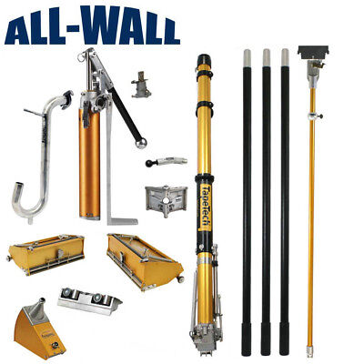 Tapetech Full Set Drywall Taping Tools Wtaper 710 Boxes Corner Tools Pump