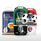 Gillette Fusion ProGlide Manual Razors - Football & Olympic Special Edition from