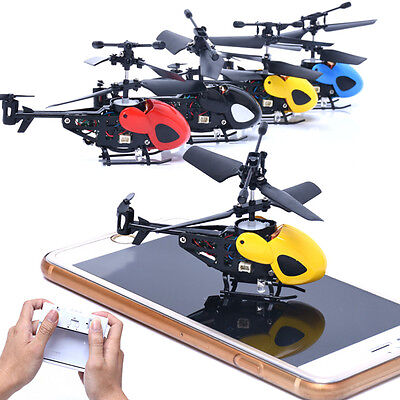 LED Micro 2 CH Mini RC Helicopter Radio Remote Control Aircraft  (Mini Rechargeable Rc Helicopter Radio)