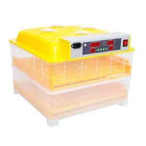 AUS FREE DEL-160W Automatic 112 Chicken Duck Goose Egg Incubator Sydney City Inner Sydney Preview