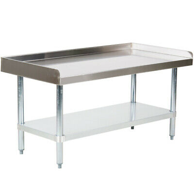 Cmi Commercial Stainless Steel Equipment Grill Stand With Undershelf 24x48