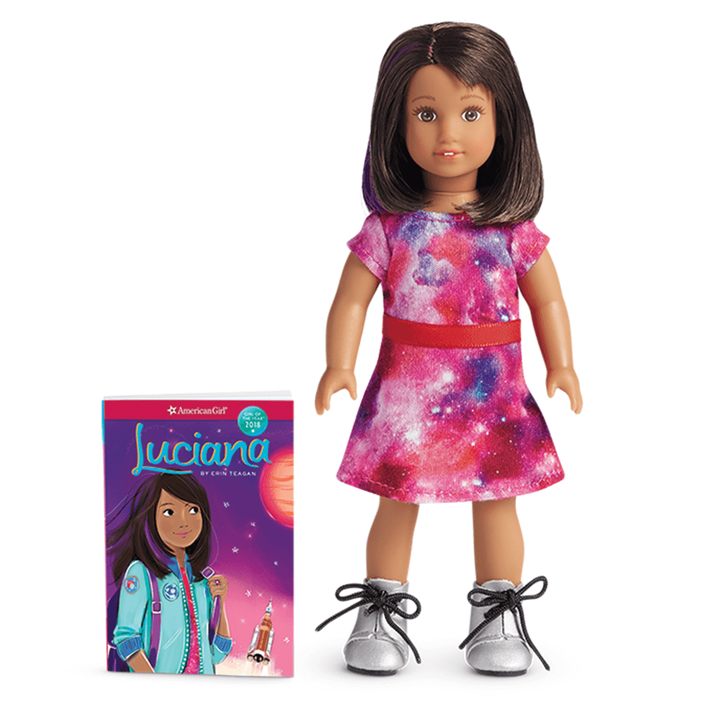 New American Girl Luciana Vega Mini Doll 2018 Girl of the Year