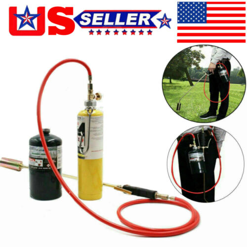 Propane Torch Wand Ice Snow Melter Weed Burner Flame Wand Igniter Roofing Black