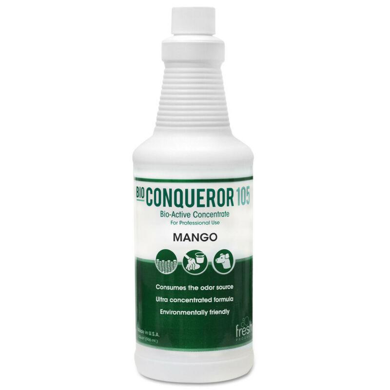 Fresh Products Bio Conqueror 105 Enzymatic Concentrate, Mango, 32oz, Bottle, 12/