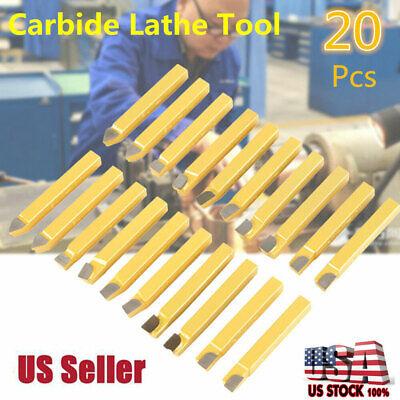 "Lot of 3 VASCO SUPREME 7//16/"" x 3-1//2/"" Square Lathe Tool Cutting HSS Bits Ground"