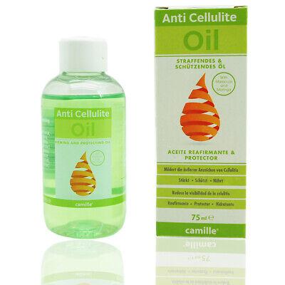 CAMILLE Pflegendes Massage Öl / Anti Cellulite Oil Hautstraffend Narbenöl 75ml
