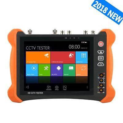 8inch 4k Ahd Cvi Tvi Sdi Cvbs Ip Camera Tester H.265 Dmm Tdr Vfl X9-movtadhs