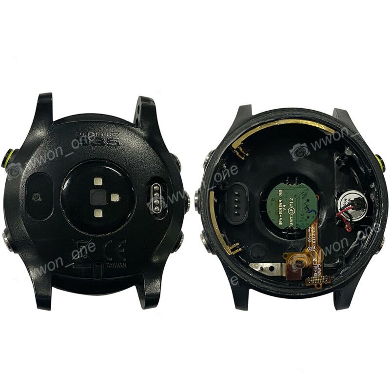Garmin Forerunner 935 Running Sport Watch Black Back Case Back Cover Replacement