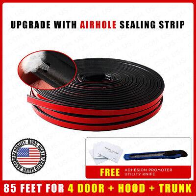 85ft Car Auto Rubber Weather Draft Seal Door Window Hood Trunk Noise Leak Strip