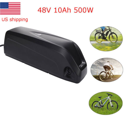 48V 10Ah HaiLong Lithium E-bike Battery Cell Pack Charger 500W Electric Bicycle