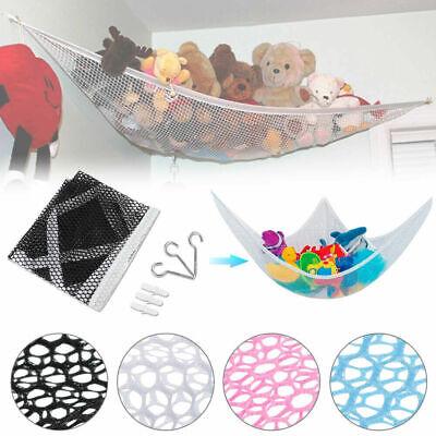 Toy Hammock Hanging Storage Net Corner Kids Stuffed  Animals Organizer hot Toy Storage Hammock