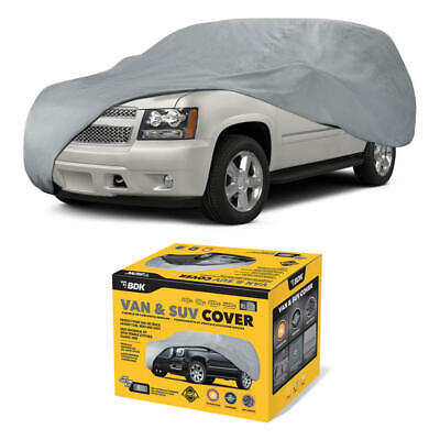 Full Van/SUV Car Cover for Dodge Caravan & Durango Breathable Indoor Protection