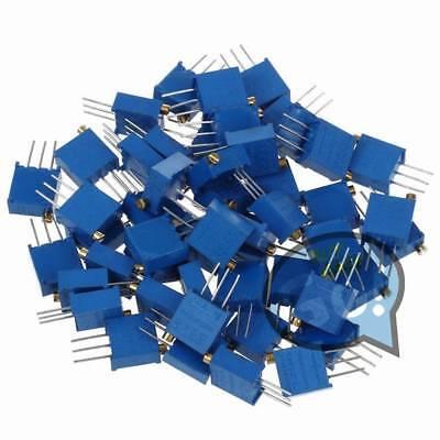 100 - 500k 60pcs 3296 W 12value Potentiometer Variable Resistor Assorted Kit