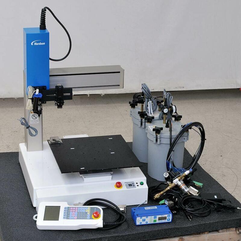 Nordson Janome JR2403N Desktop Cartesian Robot with Pendant 400x400x150mm Travel