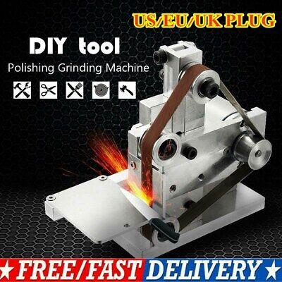Small Polish - Small DIY Polishing Machine Multifunctional Grinder Mini Electric Belt Sander US