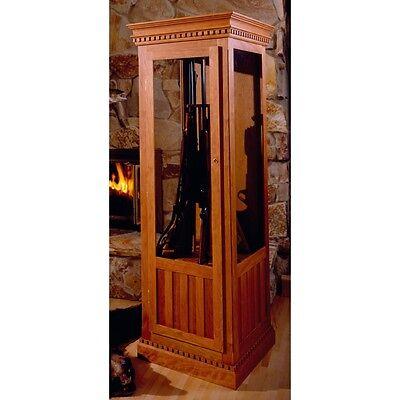 Cherry Gun Cabinet Plan - Media   Woodworking Plans   Indoor Project Plans