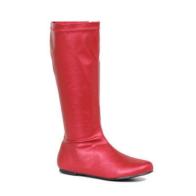 Womens Avenge Red Superhero Costume Boots
