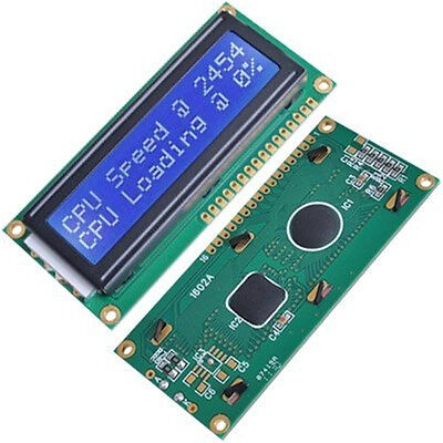 1602 Character HD44780 LCD Display Modul Anzeigen Zeichen Blau Rücklicht Arduino Lcd-display-modul