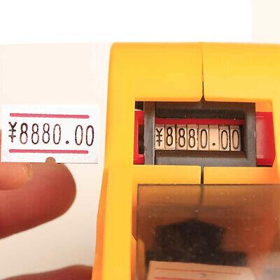 Mx-eos5500 Labeller Pricing Machine 1-roll Price Marked Label Paper Sticker