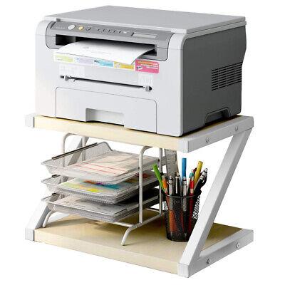 New Desktop Shelf Printer Stand Home Office Work Space Organizer School Supplies