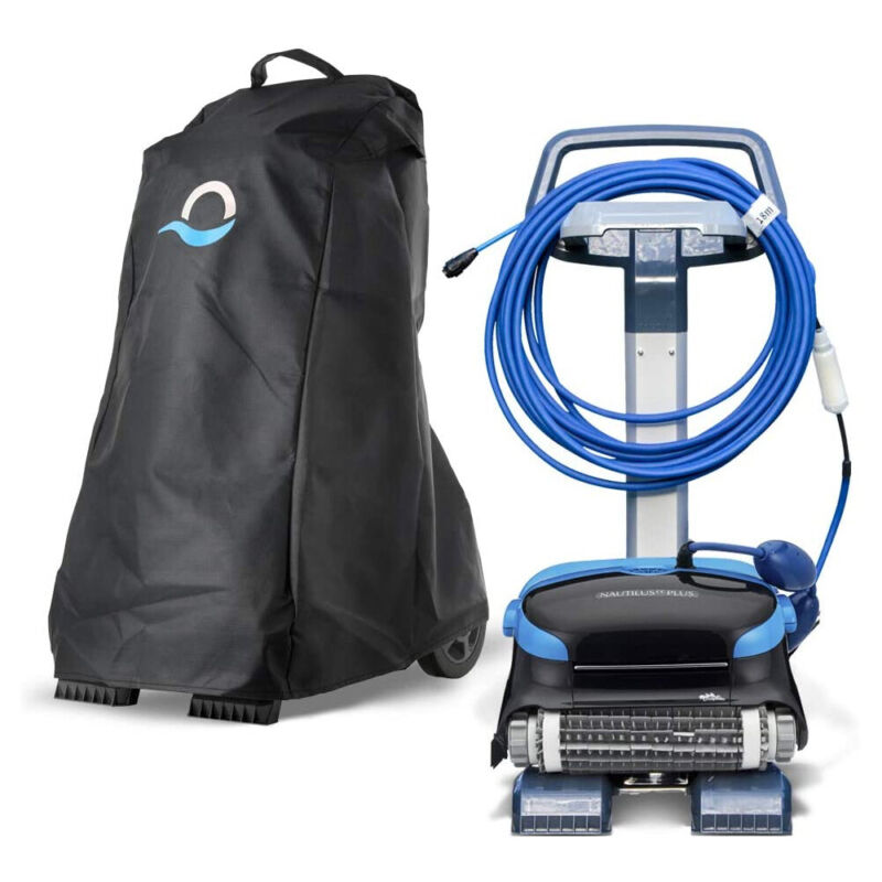 Dolphin Maytronics Robotic Swimming Pool Cleaner Premium Caddy Cover 9991795-R1