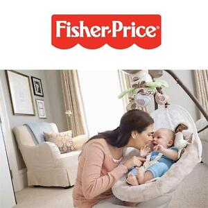 NEW* FISHER PRICE CRADLE 'N SWING Fisher-Price with Smart Swing Technology - Baby products 101935775