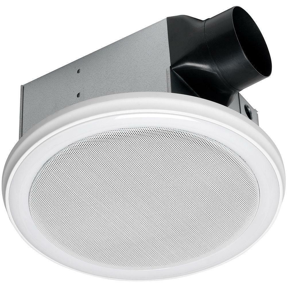 Home Netwerks 7130-06-BT White Bathroom Bluetooth Speaker w/