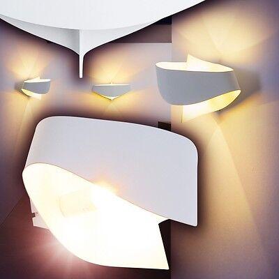 Design Strahler Flur Leuchten Wandleuchte Wohn Zimmer Lampen weiss Wandlampe
