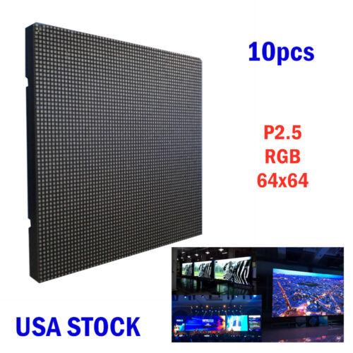 P2.5 64x64 RGB LED Matrix Panel Indoor LED Display Panel *10pcs/pack - US