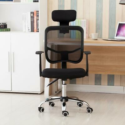 Adjustable Ergonomic Mesh Office Chair Swivel Computer Desk Task High-back Black