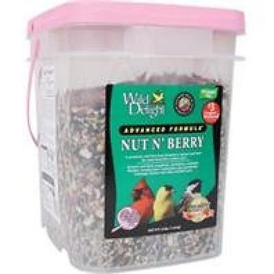 Wild Delight 382316 Nut N Berry Pail Wild Bird Food, 16-Pound, New, Free Shippin (Nut Free Bird Food)