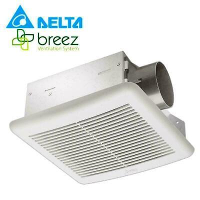 Delta Breez Slim Vfb70f 70 Cfm Single Speed Ventilation Fan New