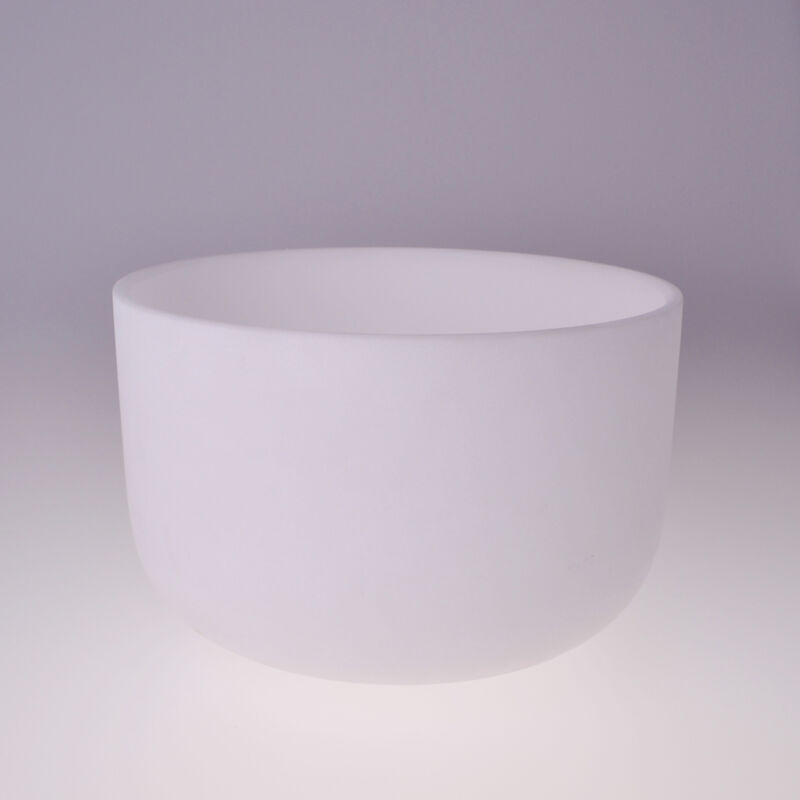 "440HZ 10"" A Third Eye Wholesale Chakra Crystal Quartz Singing Bowl 10 inch A"