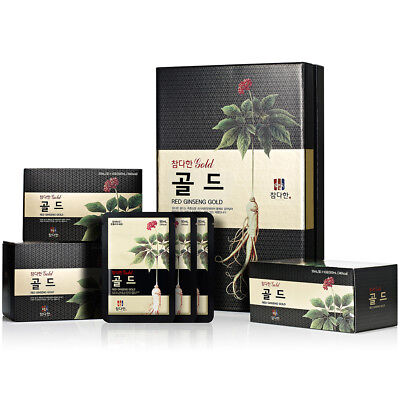 [Express] Chamdahan Korean Red Ginseng Gold 30 Pouches / Ginsenoside 15mg