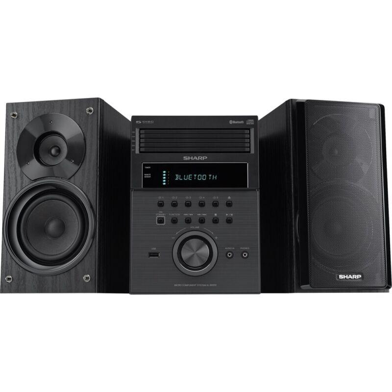 Sharp - 5-Disc Micro System - Black