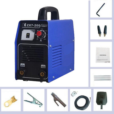 Mini Portable 220v 200amp Dc Inverter Welding Machine Mma Arc Igbt Welder