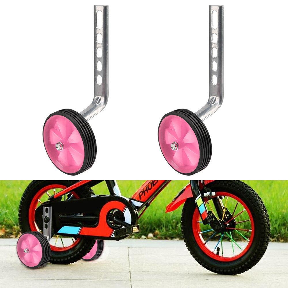 "20/"" WHEELS UNIVERSAL EASY FIT KIDS BICYCLE STABILISERS//TRAINING WHEELS 12/"""