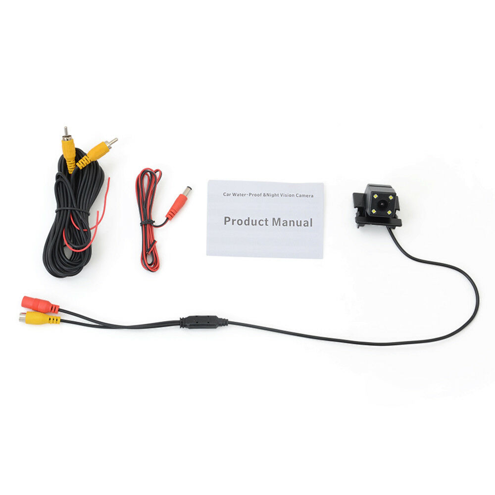 CCD Chip Car Parking Reversing Rear View Camera For Mazda
