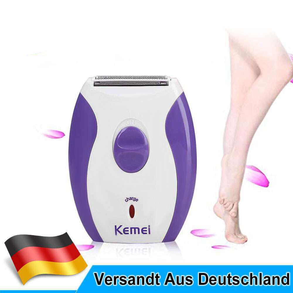 Haarentfernung Elektrischer Rasierer Lady Shaver Damenrasierer Frauen Epilierer