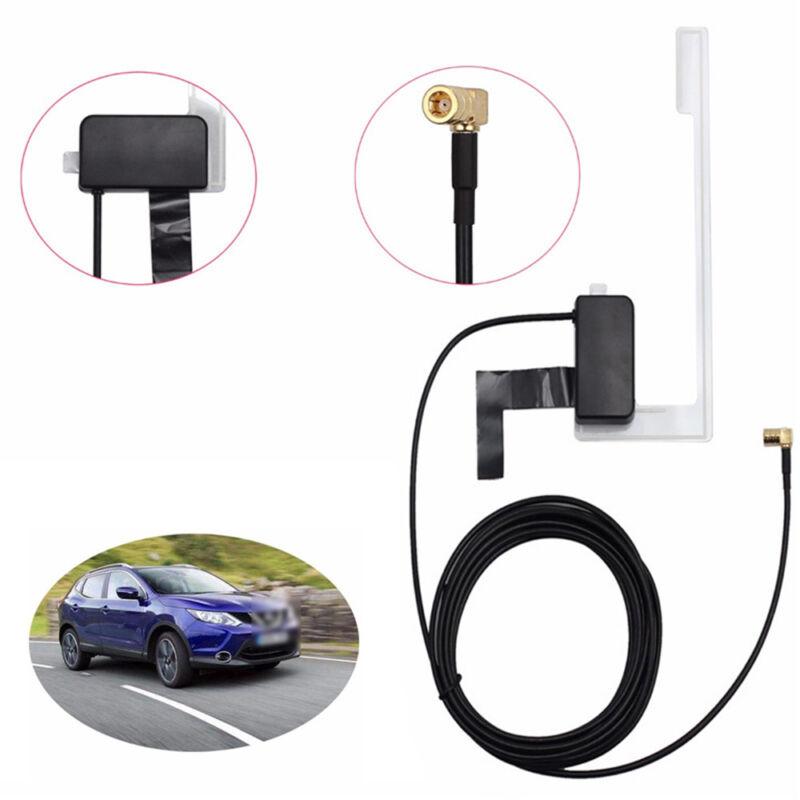 Universal Car Window Glass Mount Active DAB Antenna Digital Radio Aerial Cable-~