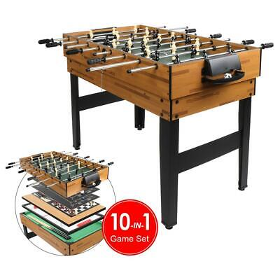 10 in 1 combo games foosball table