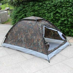 Fast Quick Easy Pitch 2 Man Pop Up Two Person Dome Tent Waterproof Outdoor X0R5