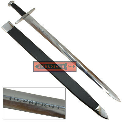 Viking Ulfberht Battle Ready Fully Functional Carbon Steel Sword with (Functional Sword)