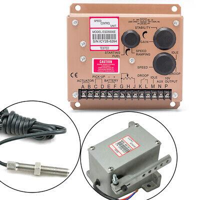 100 Brand New Governor Set Speed Controller Esd5500e Series Speed Governor 24v