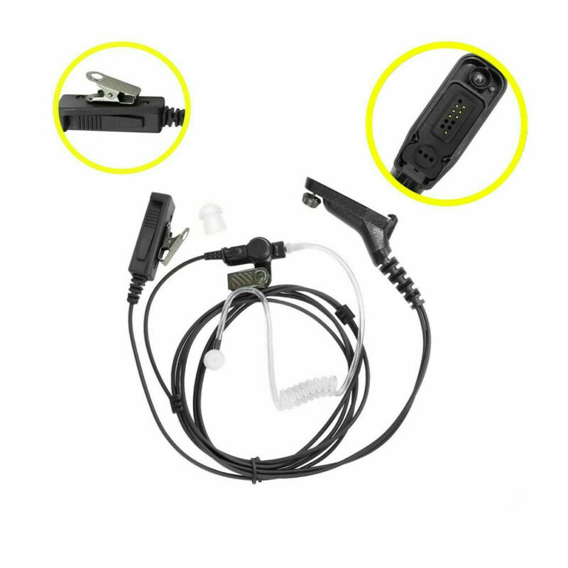 Surveillance Earpiece Headset Mic For Motorola Radio XPR7550 XPR 7550 XPR Radio