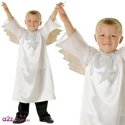 Geburt Christi Engel Jungen oder Mädchen Kostüm Weihnachten Größen 3-7 Jahre